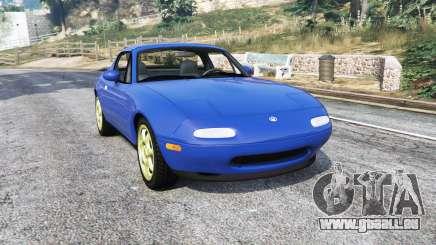 Mazda MX-5 (NA) 1997 v1.1 [replace] pour GTA 5