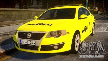 Volkswagen Passat B6 Sedan - NYC TAXI für GTA 4