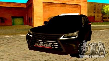 Lexus LX570 2016 für GTA San Andreas