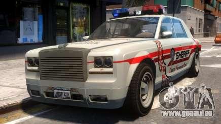 Sheriff Rolls-Royce pour GTA 4