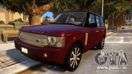 Land Rover Range Rover 2009 Baku Style pour GTA 4