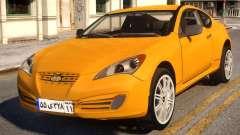Hyundai Genesis Coupe pour GTA 4