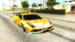 Ferrari 458 Italia pour GTA San Andreas