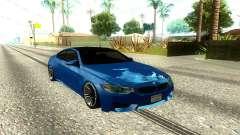BMW M4 F82 2014 Low Poly pour GTA San Andreas