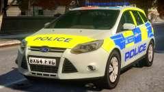 Police Ford Focus Estate IRV V.1 pour GTA 4