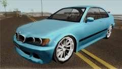 BMW E46 Low-Poly pour GTA San Andreas
