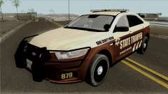 Ford Taurus 2013 Bone County Police für GTA San Andreas