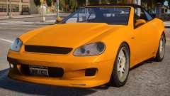 Feltzer to Mercedes SL 65 AMG pour GTA 4