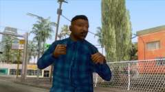 Crips & Bloods Fam Skin 4 pour GTA San Andreas