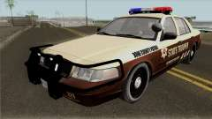 Ford Crown Victoria 2011 Bone County Police