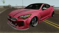 Kia Stinger GT Wide Body Kit 2018 pour GTA San Andreas