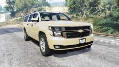 Chevrolet Suburban Unmarked Police [replace] pour GTA 5