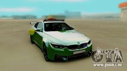 BMW M4 F82 de Mariage pour GTA San Andreas