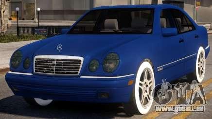 Mercedes-Benz E420 W210 v2 pour GTA 4