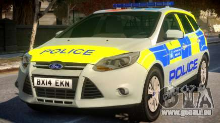 Police Ford Focus Estate IRV pour GTA 4