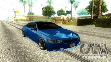 BMW M4 F82 2014 Low Poly pour GTA San Andreas