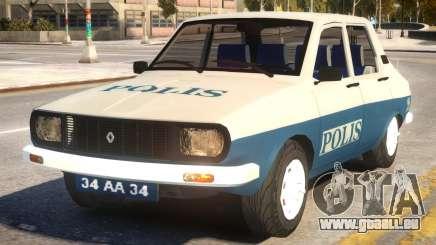 Renault 12 Police für GTA 4