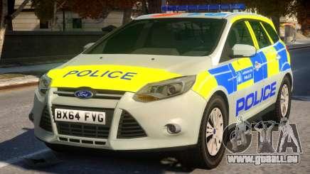 Police Ford Focus Estate IRV V.1 für GTA 4