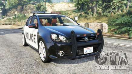 Volkswagen Golf (Typ 5K) LSPD v1.1 [replace] für GTA 5