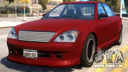Schafter to Mercedes S65 AMG pour GTA 4