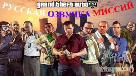 Russische Stimme für GTA 5