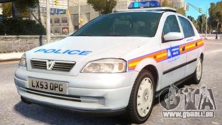 Met Police 2004 Astra Mk4 pour GTA 4