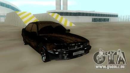 BMW 750 Damaged pour GTA San Andreas