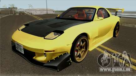 Initial D FD3S Takahashi Keisuke Fifth Stage für GTA San Andreas