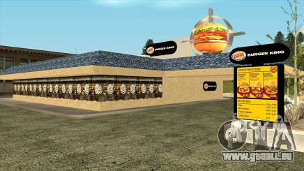 Garcia Burger King Restaurant pour GTA San Andreas