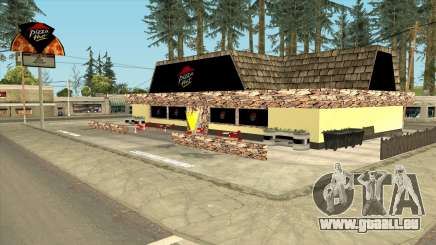 Montgomery Pizza Hut Restaurant pour GTA San Andreas