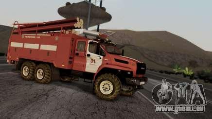 Ural Next Firetruck pour GTA San Andreas