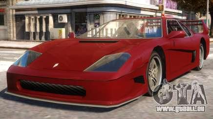 GTA SA Turismo pour GTA 4