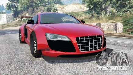 Audi R8 GT 2010 LibertyWalk [replace] pour GTA 5