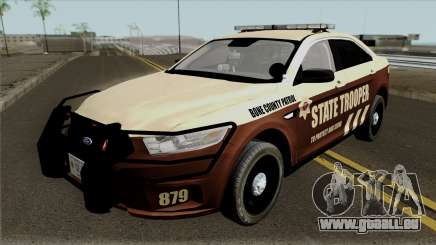 Ford Taurus 2013 Bone County Police pour GTA San Andreas