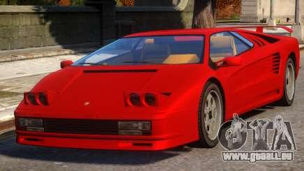 Pegassi Infernus Pop-Up Lights Up pour GTA 4