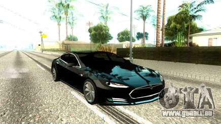 Tesla Model S Low Poly pour GTA San Andreas