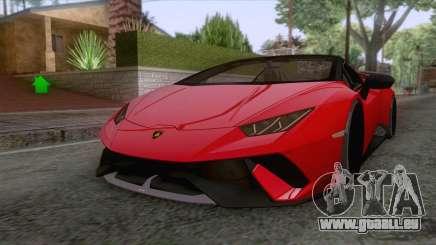 Lamborghini Huracan Performante Spyder 2019 pour GTA San Andreas