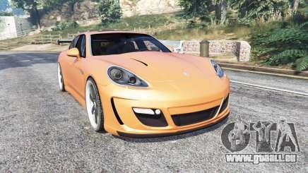 Porsche Panamera Turbo (970) v1.1 [replace] pour GTA 5