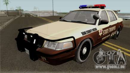 Ford Crown Victoria 2011 Bone County Police für GTA San Andreas