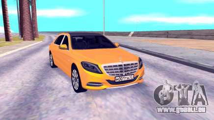 Mercedes-Benz Maybach W222 für GTA San Andreas