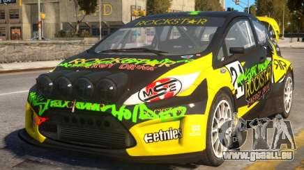 Ford Fiesta Rallycross (DiRT3) pour GTA 4