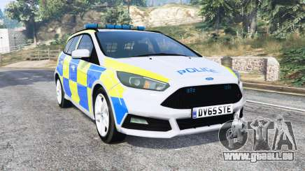 Ford Focus ST Turnier (DYB) Police [replace] pour GTA 5