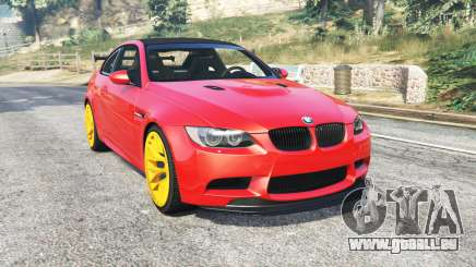 BMW M3 GTS (E92) 2010 red taillight [add-on] pour GTA 5