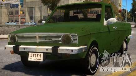 Peykan Pick Up Old für GTA 4