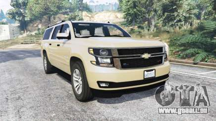Chevrolet Suburban Unmarked Police [replace] für GTA 5
