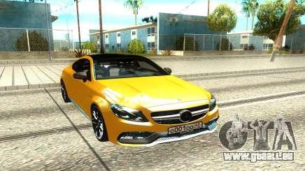 Mercedes-Benz AMG C63 für GTA San Andreas