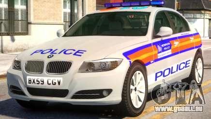 BMW M3 Series Saloon Area Car Slogan Version pour GTA 4
