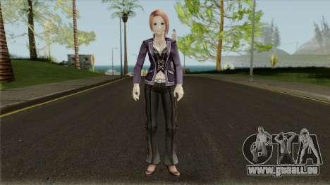 Gods Eater 2: Rage Burst - Satsuki Takamine für GTA San Andreas zweiten Screenshot