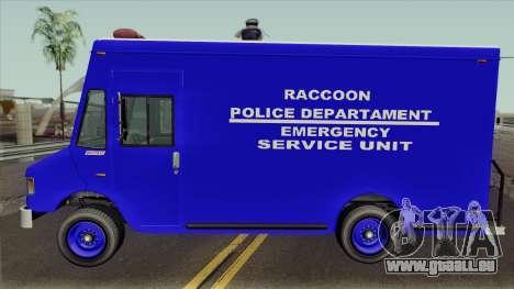 RPD Van Swat RE3 pour GTA San Andreas