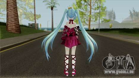 Vintage Dress (Miku) pour GTA San Andreas